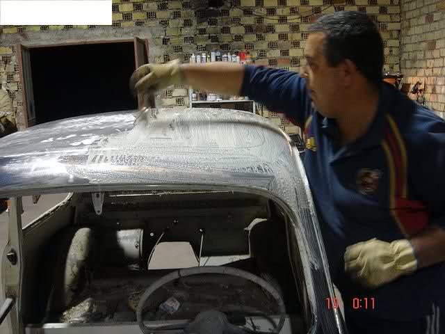 Restauración Seat 600 E 1ª serie. J1340y