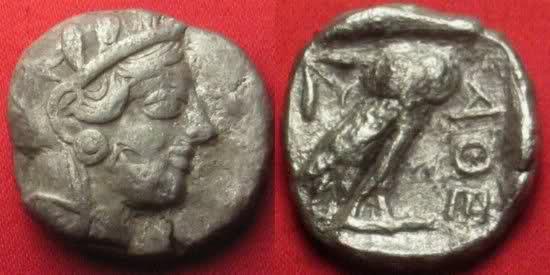 Tetradracmas de Atenas Mm2y3k