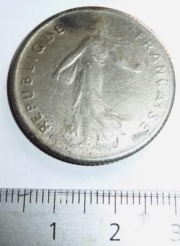 """Pièce de 5 francs """"Semeuse"""" (dessin de la nickel) de 1962 Zva4hw"""