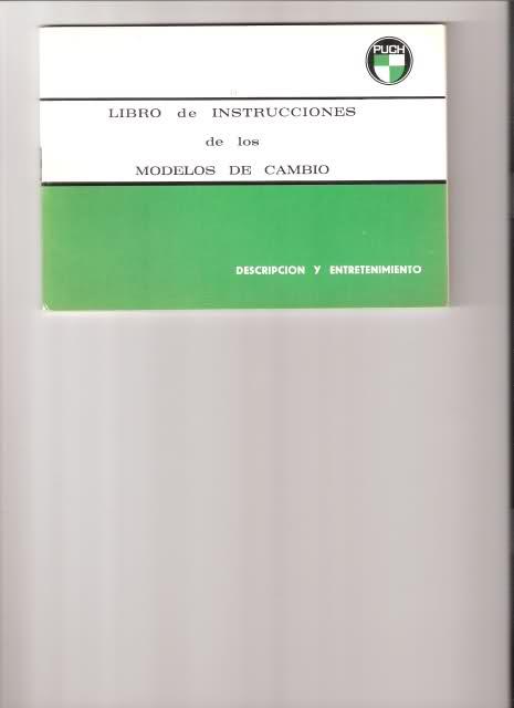 Varios manuales Puch 1j3kba
