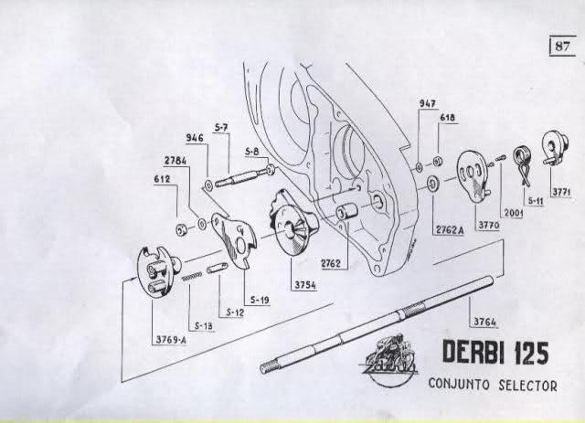 Restauración Derbi 125 Super 4V - Karioko 2d1v8np