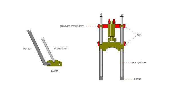 Bobbers con base Vespino 2lo2m89