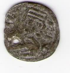 Dinero de Alfonso VIII 316m3qg