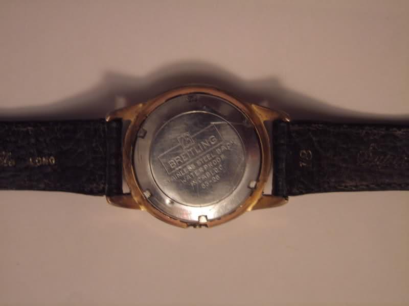 Breitling - Vintage Breitling des années 60 : petite montre classique 4hax55