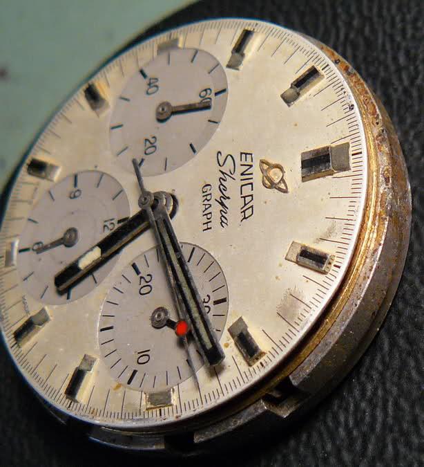 Enicar - Chronograph Enicar R72 : du Sherpa à l'Aqua 6icf2q