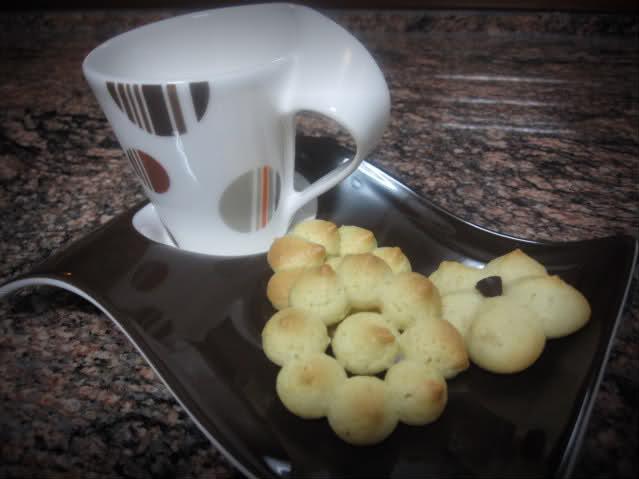 Galletas (pastas) con Flora Pro-Activ en lugar de mantequilla (para pistola) 6yh0cg