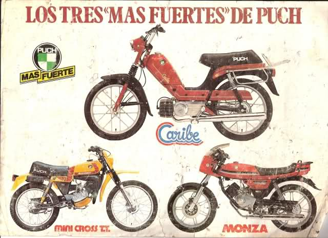 Varios manuales Puch Bj39d