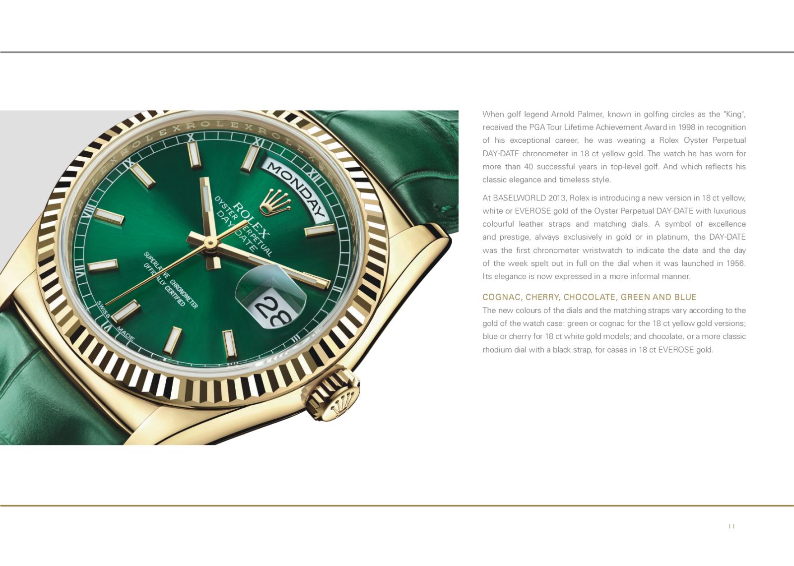 Baselworld 2013: Rolex Fa26x2