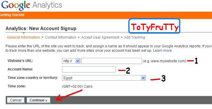 شرح كامل لكيفية الإشتراك و التفاعل بخدمة Google Analytics 1060r9x