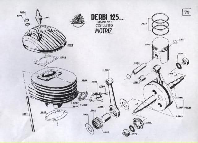 Restauración Derbi 125 Super 4V - Karioko 19nofl