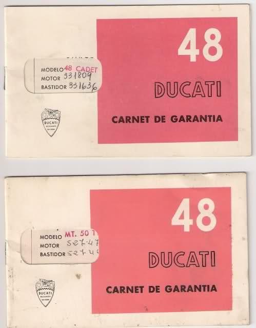 Mis Ducati 48 Sport 1yo1sl