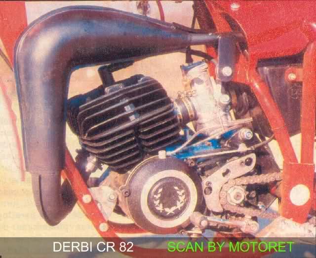 motoret - Derbi CR 82 * Motoret 2rm4h6t