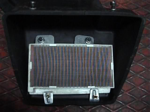 ¿Función de la caja del filtro de aire? 2rrb11i