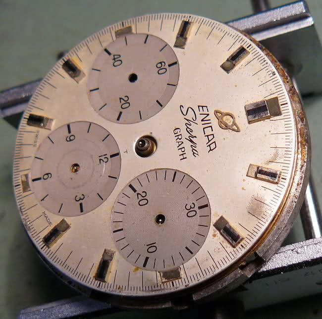 Enicar - Chronograph Enicar R72 : du Sherpa à l'Aqua 34q7o8h