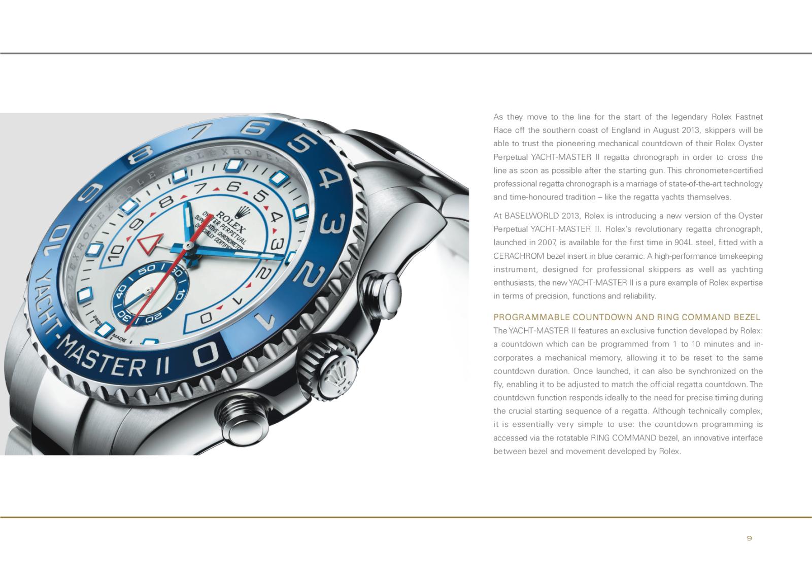 Baselworld 2013: Rolex 95s9k5