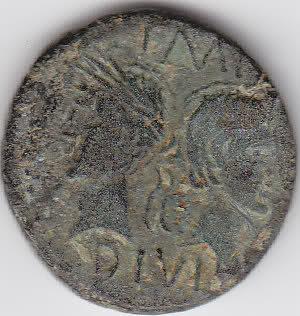 As et dupondius de Nîmes Fjkenc