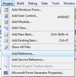 تعلم كيفية استخدام المكتبة DotNetBar لإظافة ثيم Office2007 بكل أدواته لمشروعات vb.net Ivhgew
