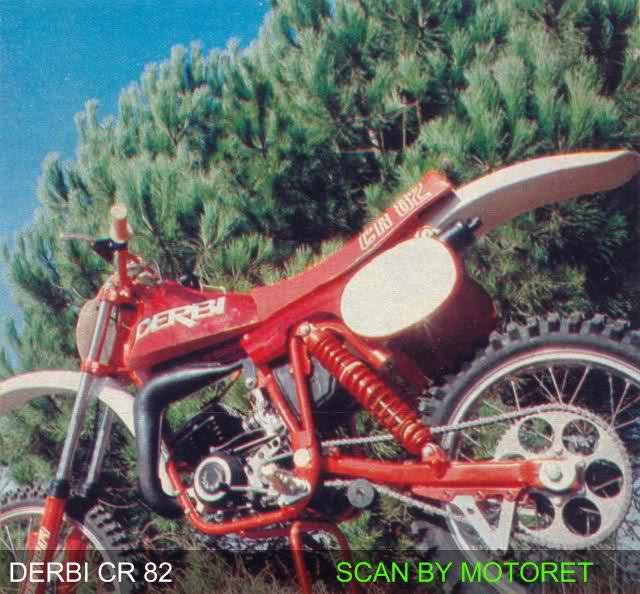 Derbi CR 82 - Motoret Ngr2uv