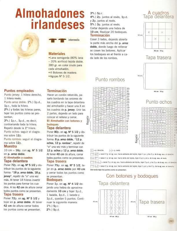 patrones - Busco patrones para almohadones Oigojs