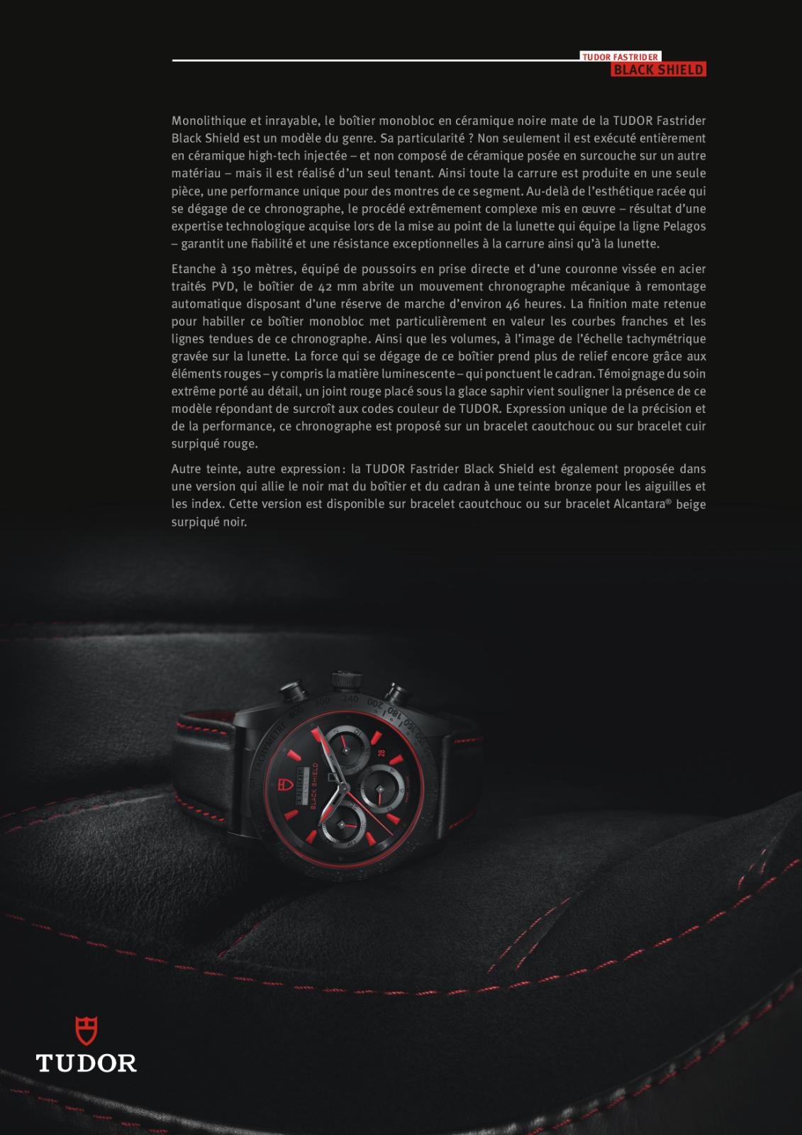 Baselworld 2013: Tudor - Black Shield R0ruxd