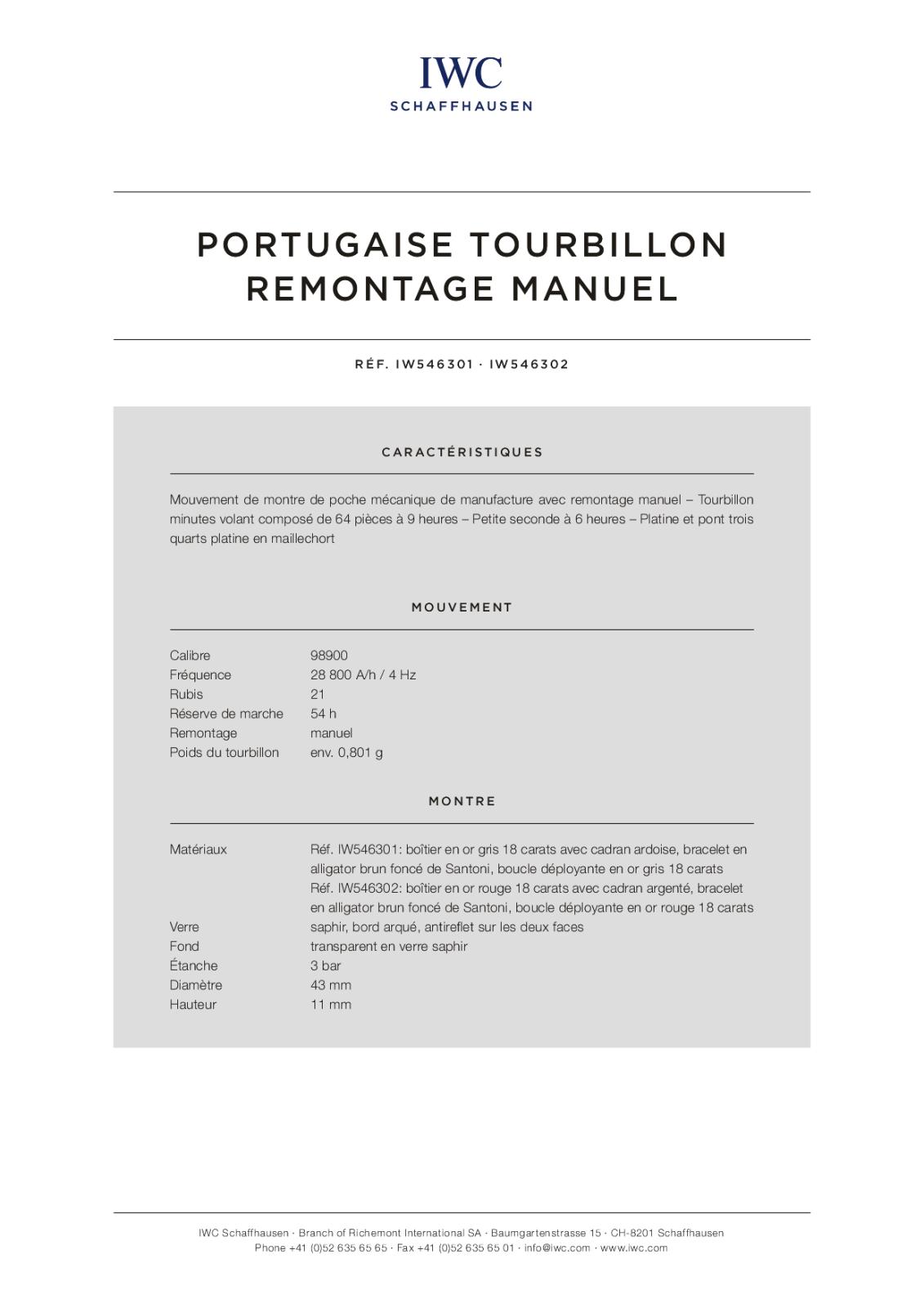 IWC - Deux nouvelles Portugaise à la conquète du monde. 1213oeu