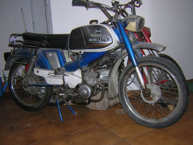 Mobylette SP-96, Inicio restauración. 1zn8yzs