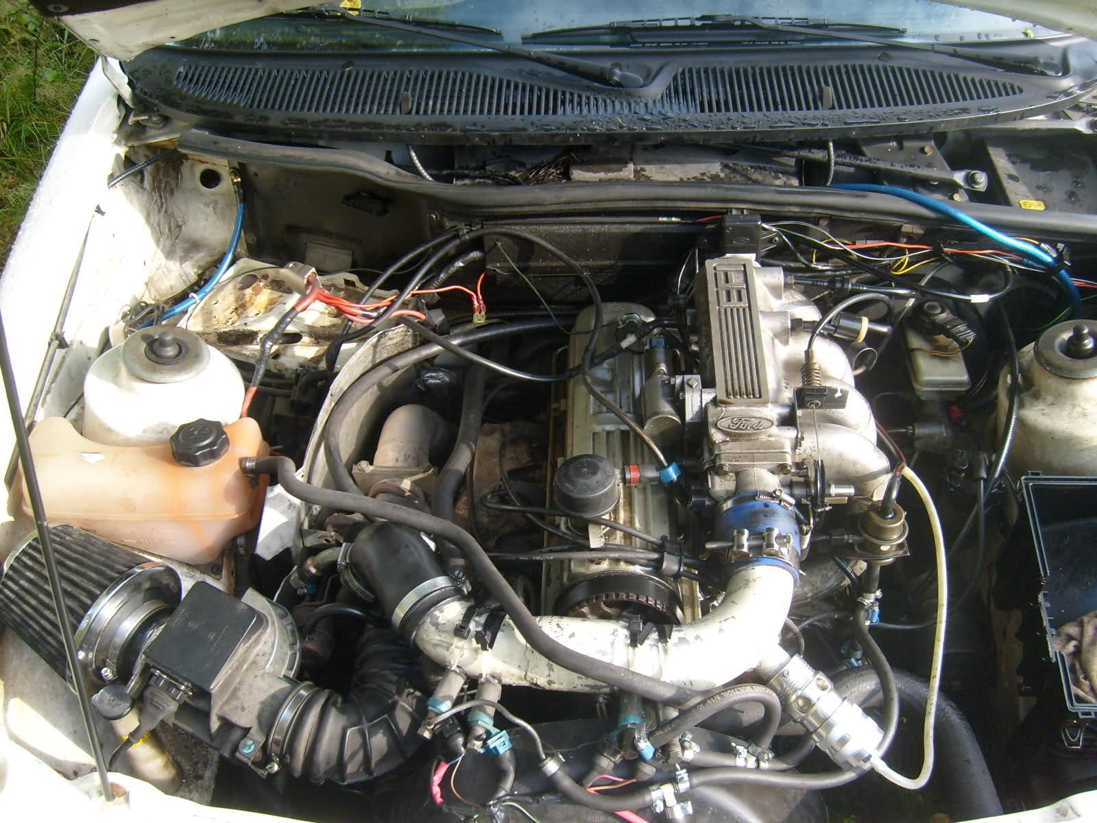 Andren - Ford Sierra, Pinto (Turbokonverterad) 210xdg7