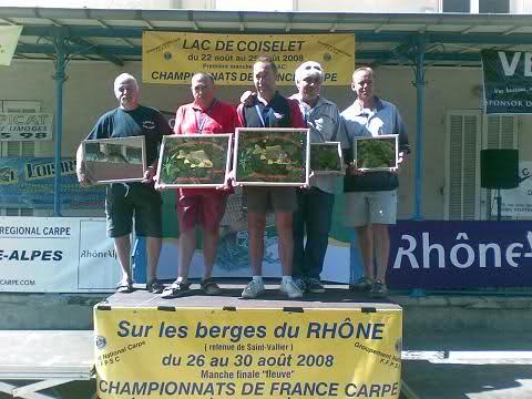 final du championnat de france carpe sénior 260eqgl
