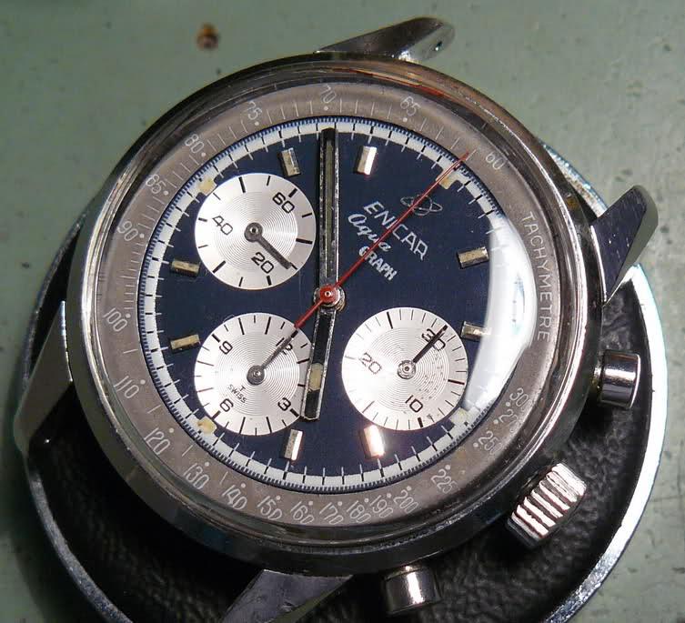 Enicar - Chronograph Enicar R72 : du Sherpa à l'Aqua 287zvgx