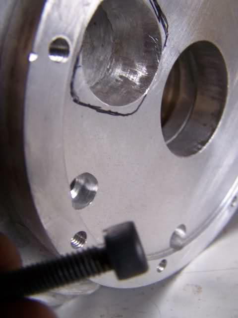 Montaje de válvula rotativa 2h5738z