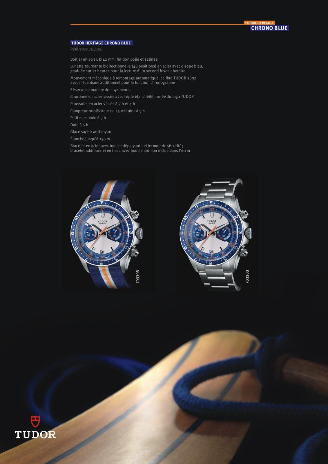 Baselworld 2013: Tudor - Chrono Héritage Blue 2qbhbpl
