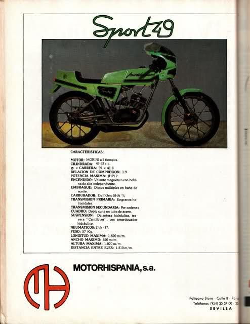 Motor Hispania Sport 49 2z7ol14