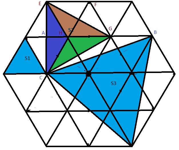 Geometria - razão de áreas 6401g4