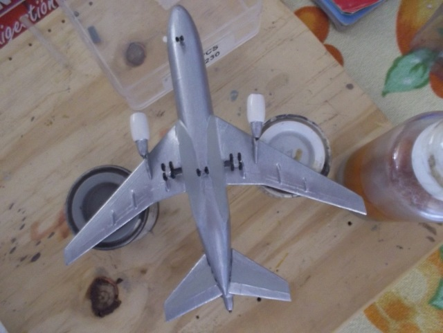 Douglas DC-10 SWISSAIR=modelex/Heller 1/450 Ref.049 (TERMINADO) 168g7es