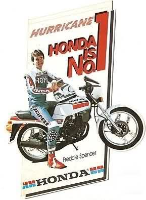 Honda MBX 75 Hurricane 16i8wh4