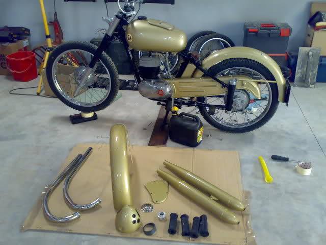 "Mi Montesa Brio 81 de 1958. 125cc ""La Trucha"" 1ex83p"
