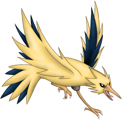 Legendary: Zapdos (Floater) 21o4m80
