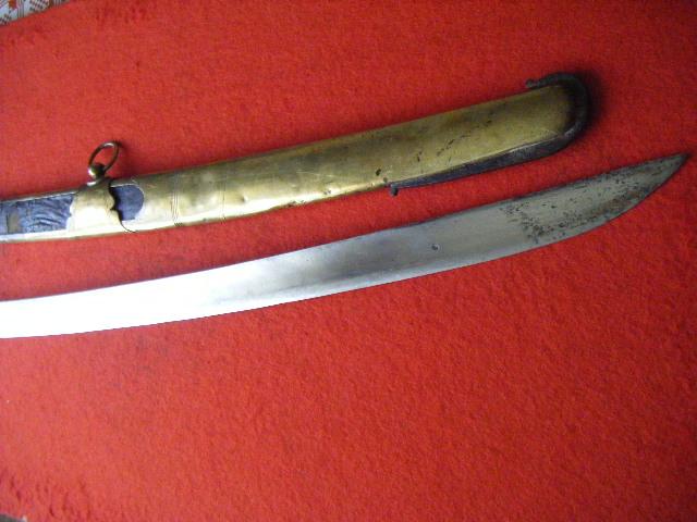 sabre d'officier de chasseurs à cheval du modèle 1790 ou 1792. 21zg90