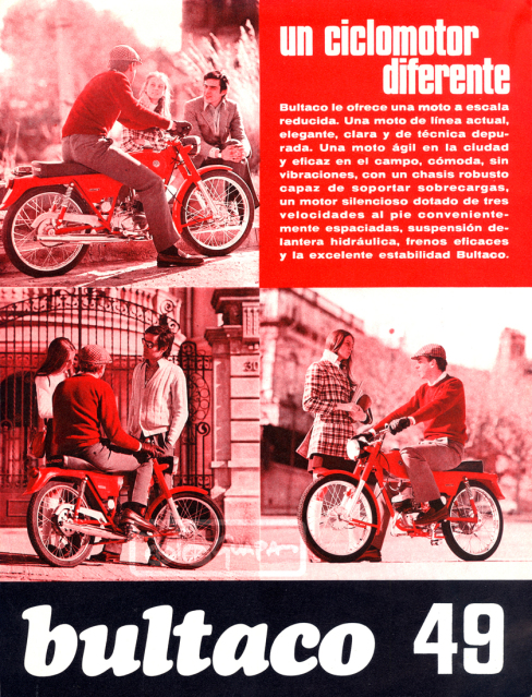 Bultaco 49 y 49 GT de carretera 23tfpmv