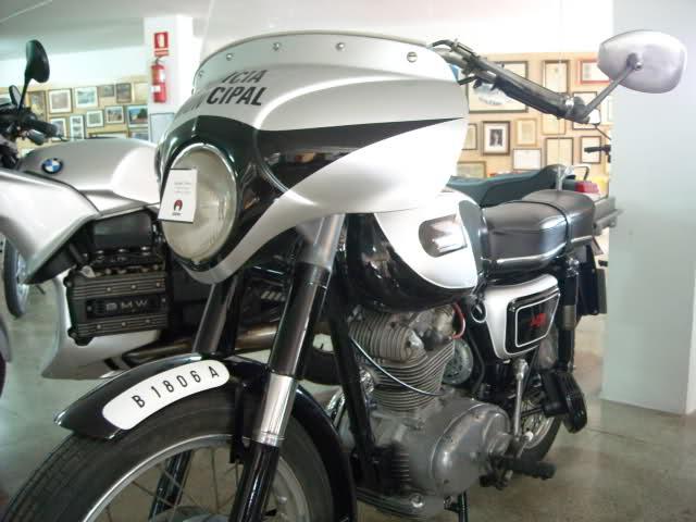 """Bultaco Senior """"Policía Municipal"""" 242sgog"""