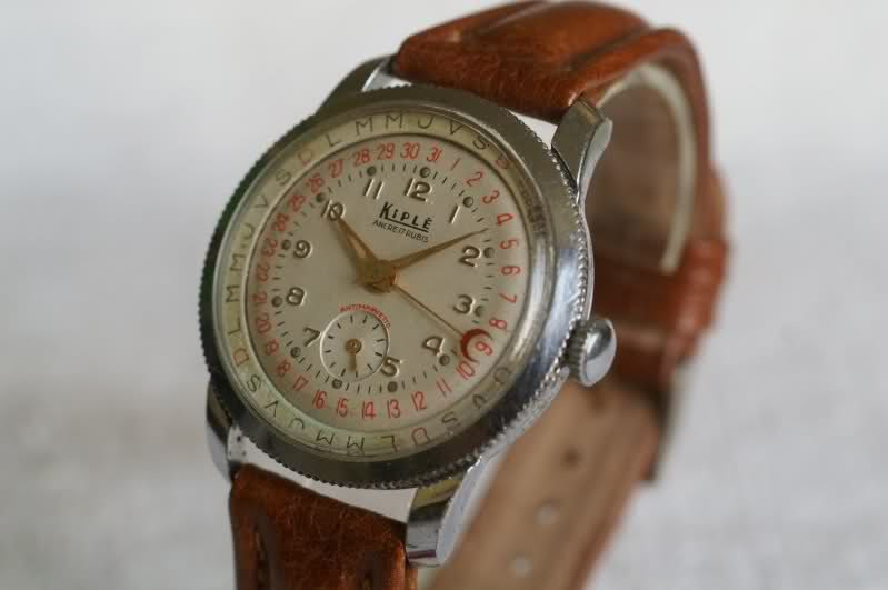 Kiplé montres vintage françaises dans l'ombre des Lip et Yema 25u5u1d