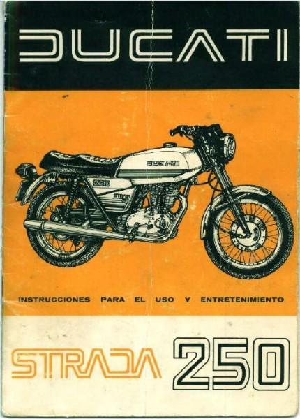 Ducati Strada 250 1979 28lvsbd