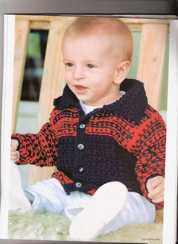 Otras chaquetitas de bebés (Para otoño-invierno)(Matilde) 28s36nm