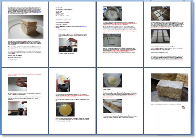 Imprimir el texto de las recetas 29622dg