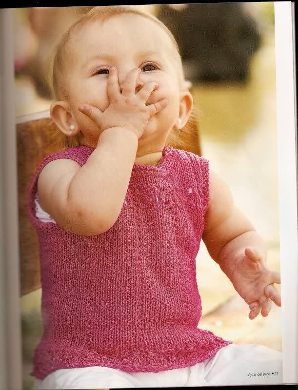 patrones - Patrones de Jerseys para bebés (6 meses) solicitado por Matilde 29cx4lf