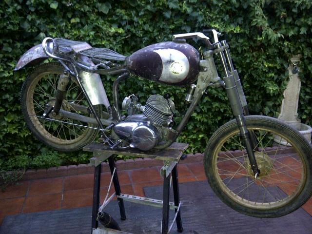 Derbi Cross 125 - 1959 * Rafbultaco 29dbgg6