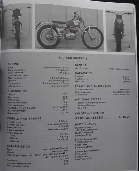 Recopilación de pruebas Bultaco (americanas) 2nreyf