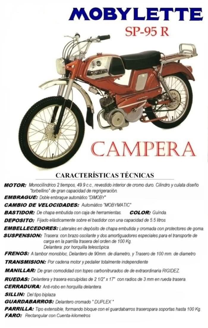 SP-95 R Campera ( Ficha tecnica ) 2ns44qo