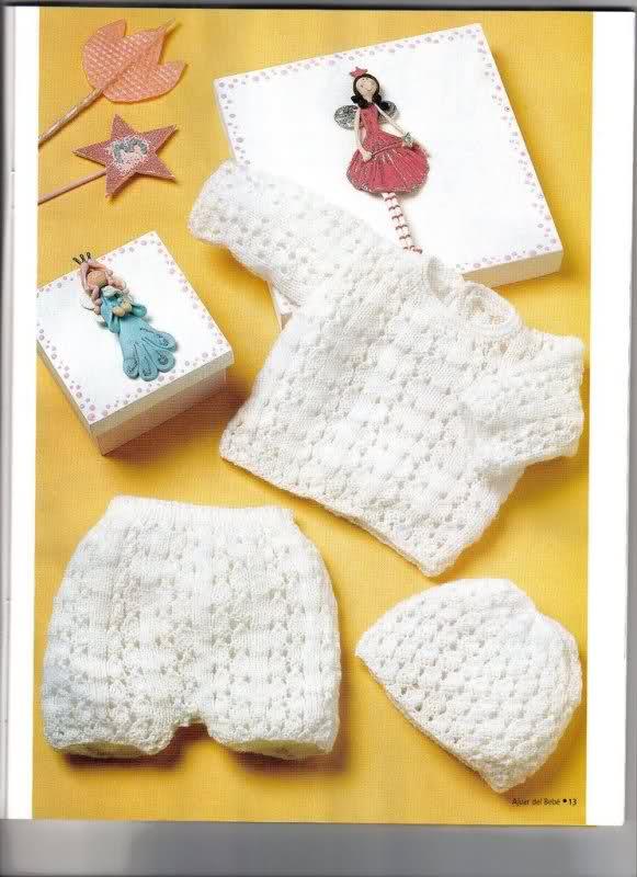Camisetitas y bombachos para bebés para el verano (lomargo) 2qizg5d