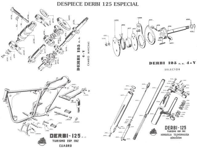cross - Derbi Cross 125 - 1959 * Rafbultaco 2rnbz0o